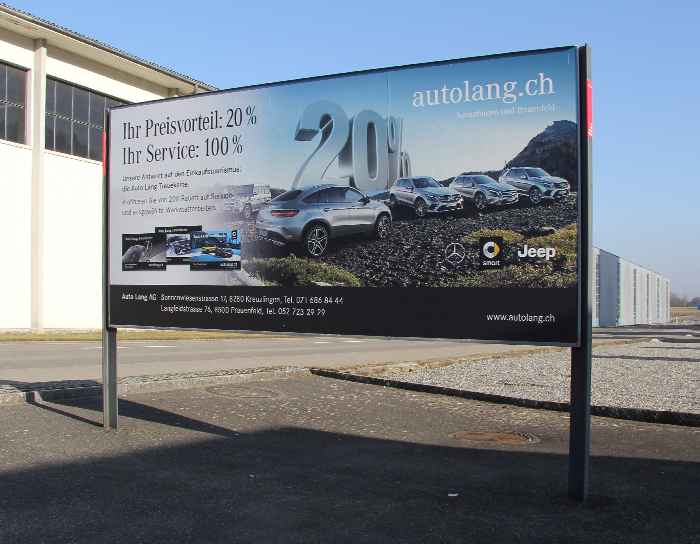 Auto Lang AG: Inseratekampagne